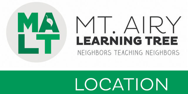 Mt. Airy Learning Tree Class