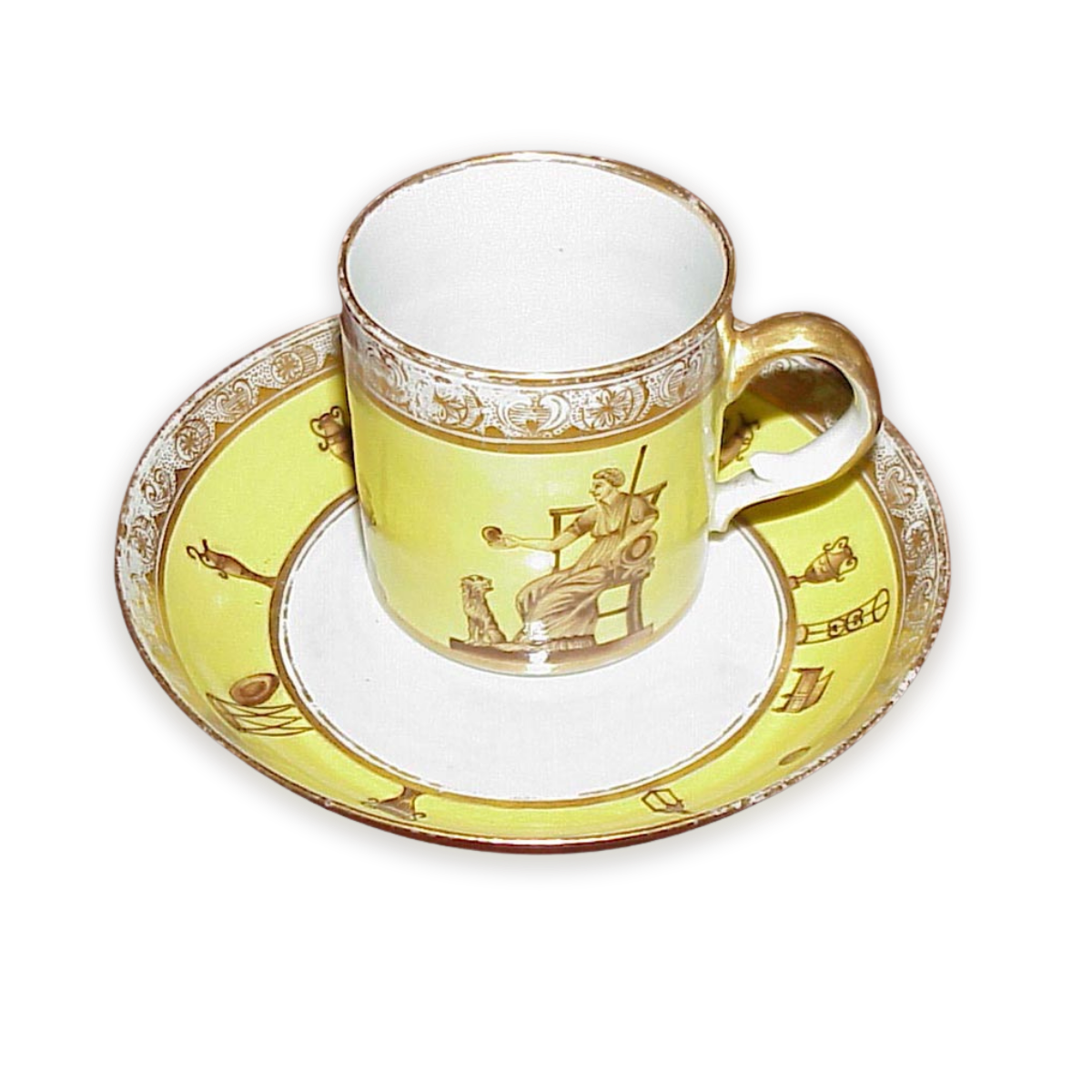tea cup and saucer from 1811